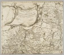 Carte générale et nouvelle de toutte la Pologne du Grand Duchè de Lithuanie et des pais limitrofes / Gravée par B. Folin capitaine au Corps d'Artillerie de la Couron[n]e de Pologne à Varsovie 1770