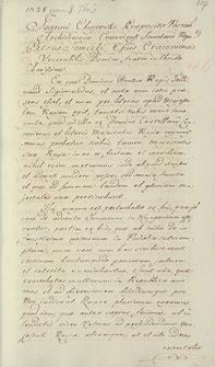Naruszewicz teka. 216 dokumentów z 1528 r. T. 42, nr 46