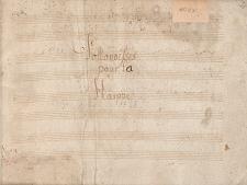 Pollonoisses pour la Harppe [Rękopis] : [Zbiór tańców polskich i innych form muzycznych na harfę]