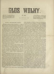 Głos Wolny. 1867, nr 161 (31 XII)