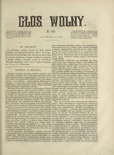 Głos Wolny. 1868, nr 163 (30 I)