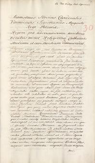 Naruszewicz teka. 73 dokumenty z czasów Zygmunta Augusta. T. 78, nr 30