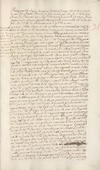 Naruszewicz teka. 73 dokumenty z czasów Zygmunta Augusta. T. 78, nr 31