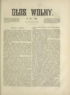 Głos Wolny. 1868, nr 165/166 (10 II)