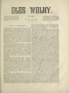 Głos Wolny. 1868, nr 167 (20 II)