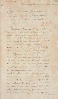 Naruszewicz teka. 272 dokumenty z 1607 r. T. 103, nr 270