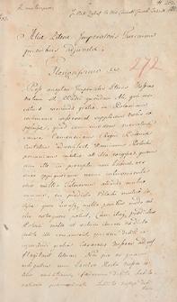 Naruszewicz teka. 272 dokumenty z 1607 r. T. 103, nr 272