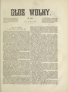 Głos Wolny. 1868, nr 169 (11 III)