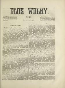 Głos Wolny. 1868, nr 170 (21 III)