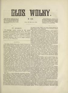 Głos Wolny. 1868, nr 172 (10 IV)