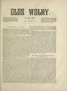 Głos Wolny. 1868, nr 174/175 (10 V)