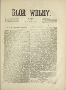 Głos Wolny. 1868, nr 176 (20 V)