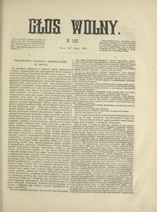 Głos Wolny. 1868, nr 177 (31 V)