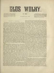 Głos Wolny. 1868, nr 180 (30 VI)