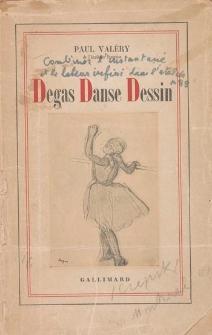Degas - danse, dessin