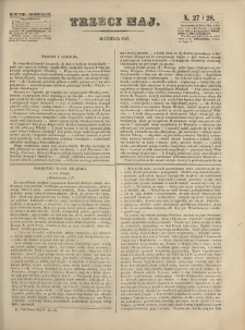 Trzeci Maj. 1847, nr 27/28 (14 VI)