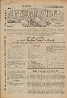 Tygodnik Polski. 1939, nr 9 (26 II) = nr 876