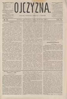 Ojczyzna : dziennik polityczny, literacki i naukowy. 1865, nr 74 (13 IX)